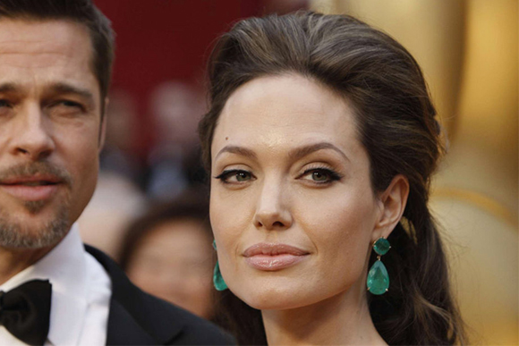 Most Expensive Emeralds in the World - #4 Angelina Jolie emerald earrings ($ 2.5 million)