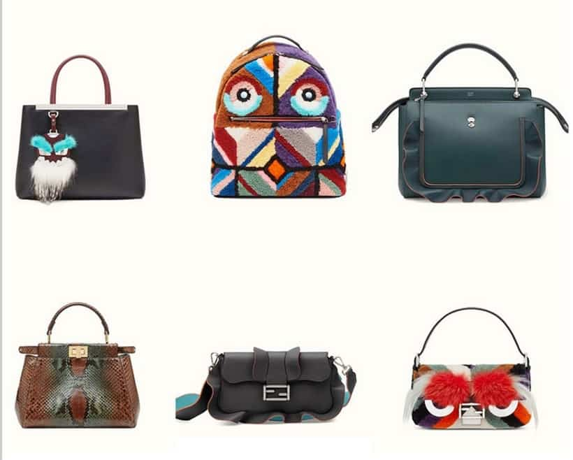 #5 Most expensive handbag brand - Fendi