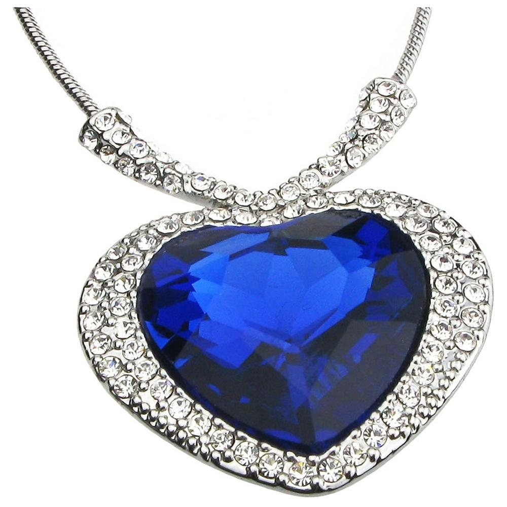 "Top 10 most expensive diamond necklace - The ""Heart of the Ocean"""