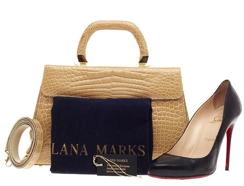 #9 Most expensive handbag brands - Lana Marks