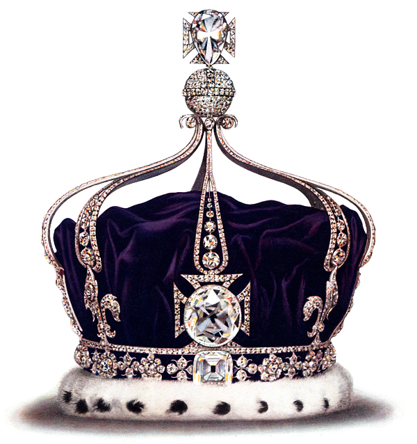 Koh-I-Noor tops the list of the world's most expensive diamonds.