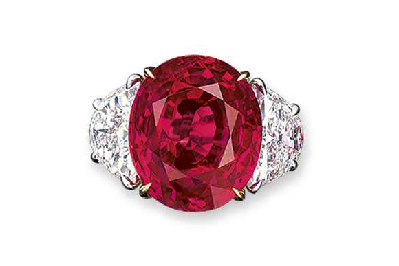 """#8 The Most Expensive Rubies - The """"Regal"""" Ruby ($ 5,967,465)"""
