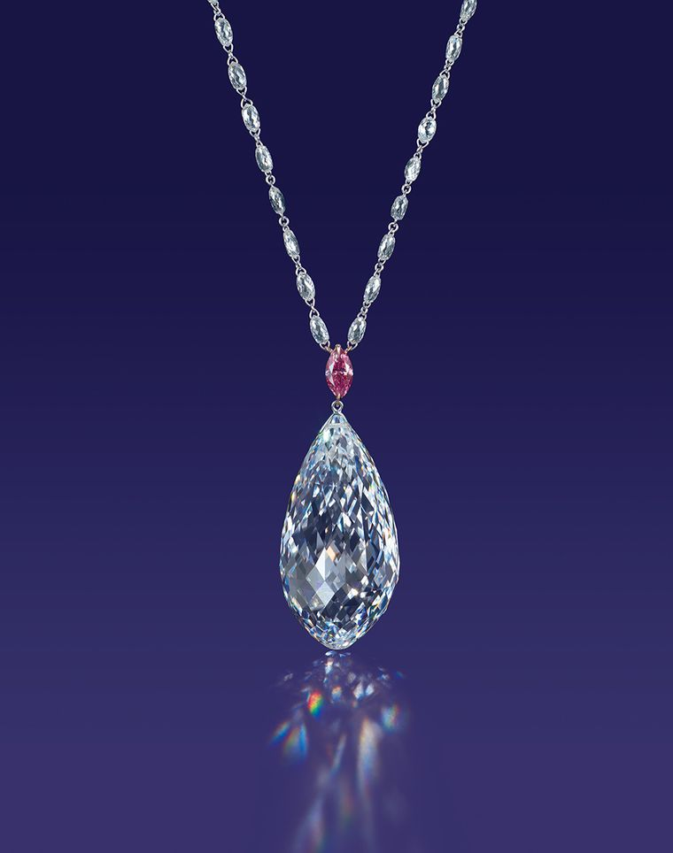 Top 10 most expensive diamond necklace - The Star of China