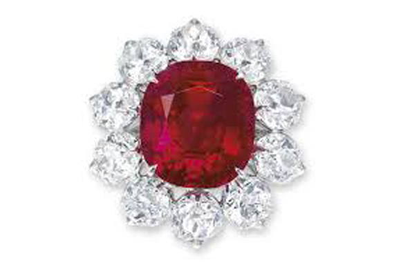 """#2 The Most Expensive Ruby - The """"Crimson Flame"""" Ruby ($ 18,382,385)"""
