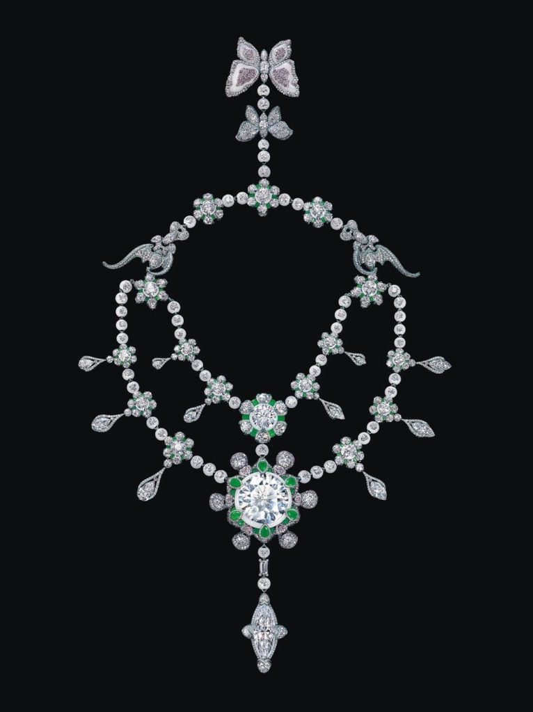 The world's most expensive necklace - A Heritage in Bloom