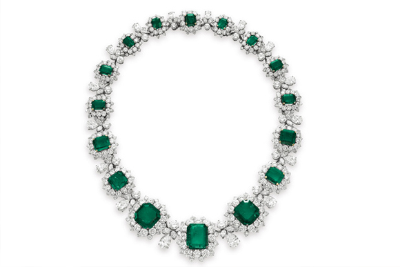 Most Expensive Emeralds in the World - #3 Elizabeth Taylor Set ($ 6.2 million)