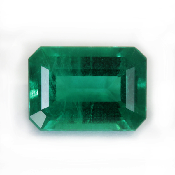 Emerald of excellent purity