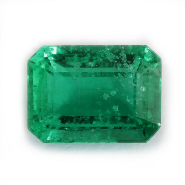 Emerald of good purity