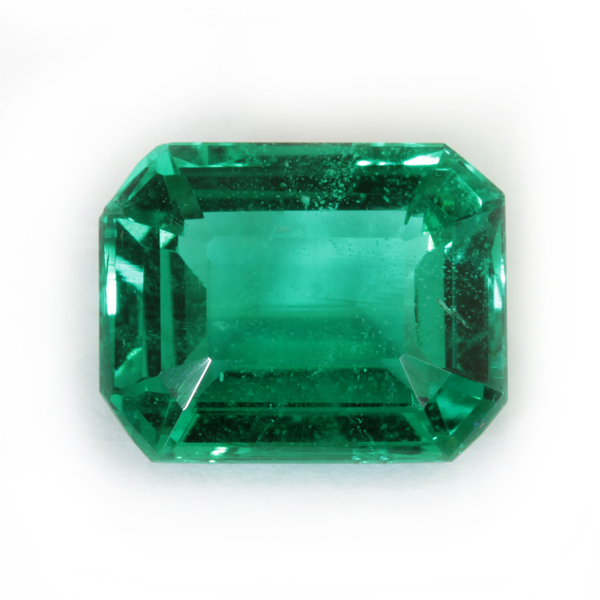 Emeralds pure to the naked eye