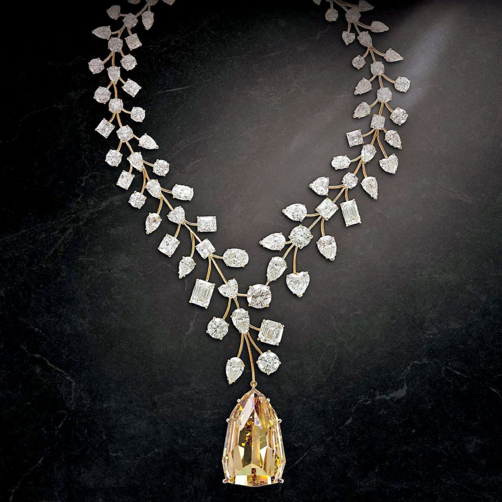 "Top 10 most expensive diamond necklace #2 - The ""L'Incomparable"" Diamond Necklace"