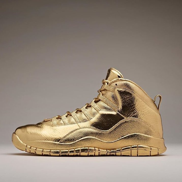 The Most Expensive Nike Shoes in the World - Solid Gold OVO x Air Jordans $2 million