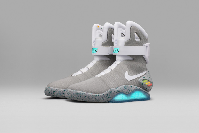 #4 Most Expensive Nike Shoes in the World | Nike Mag self-lacing training shoes - $200,000