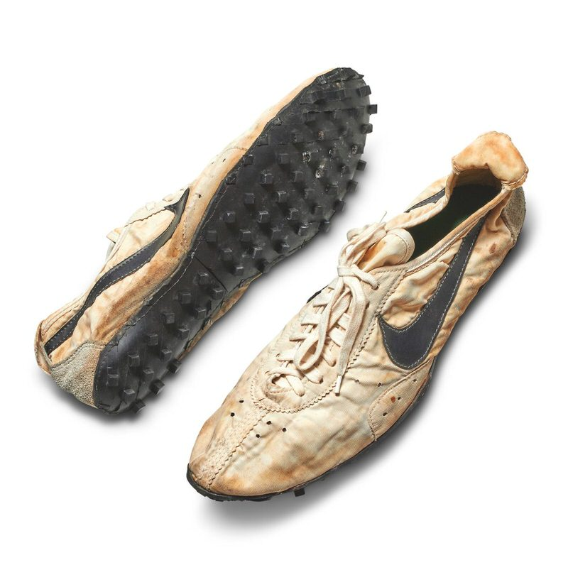 "#3 Most Expensive Nike Shoes in the World | Nike Waffle Racing Flat ""Moon Shoe"" – $437,500"