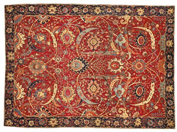 Clark Sickle-Leaf Carpet was sold for $33 million, and becoming the most expensive rug ever sold in the history.
