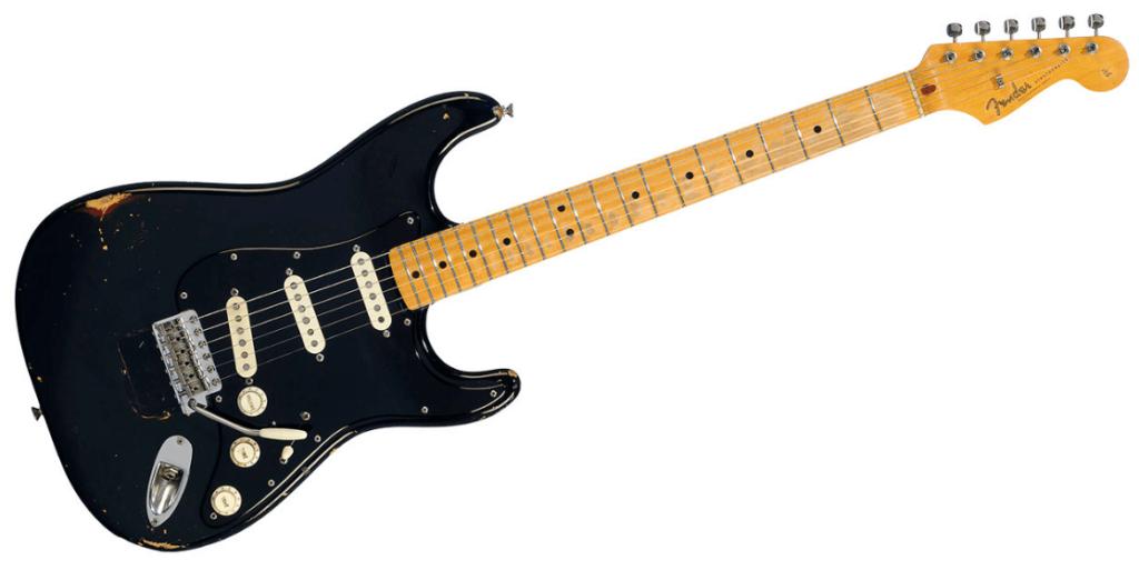 #2 Most Expensive Guitar - Black strat