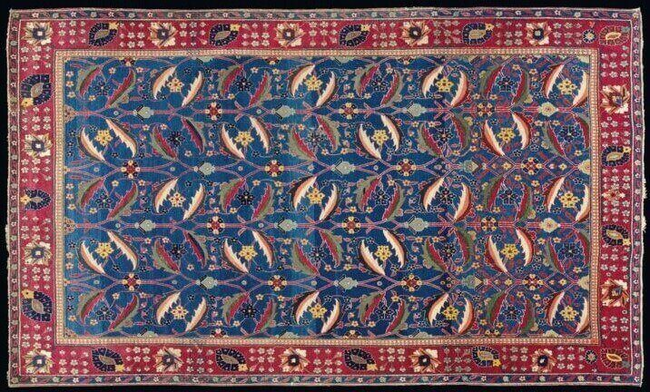 #2 most expensive rugs in the world - A KIRMAN 'VASE' CARPET - $ 7.9 million