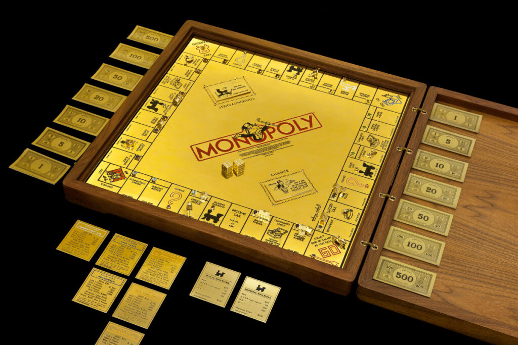 Most expensive toys ever sold in the world - #7 Gold Monopoly - $2 million