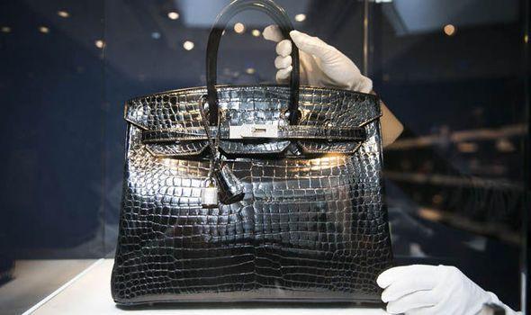 most expensive hermes bags - #7 Birkin Hermès Blue Crocodile Leather Bag - $ 150k
