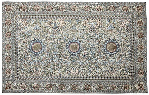 #3 most expensive rug in the world - The Pearl Carpet of Baroda - $ 5.5 million