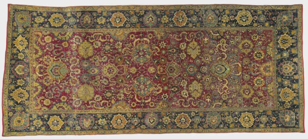 #9 Most Expensive Rug - Isfahan Rug - $ 116,500