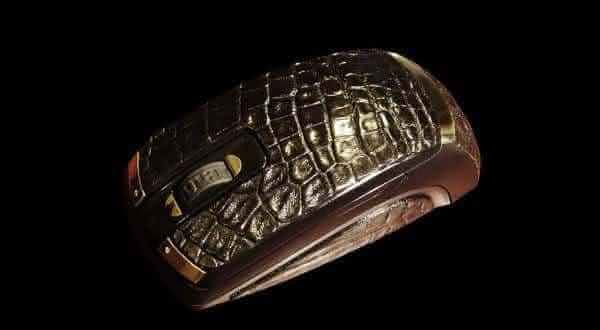 Top 10 Most expensive computer mouse - #10 GOLDEN FERRARI AND CROCODILE SKIN MOUSE - $17,258
