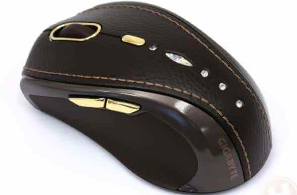 Top 10 Most expensive computer mouse - #8 GIGABYTE BLING-BLING GM-M7800S WIRELESS MOUSE - $18,510