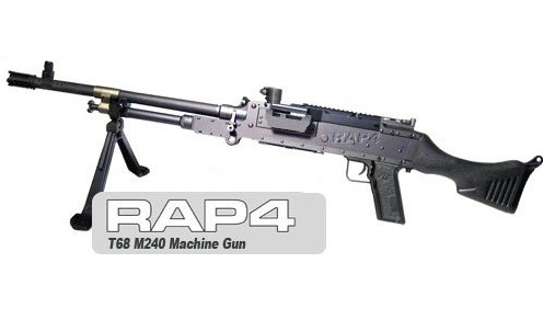 #3 RAP4 T68 M240 Paintball Machine Gun - $4,500
