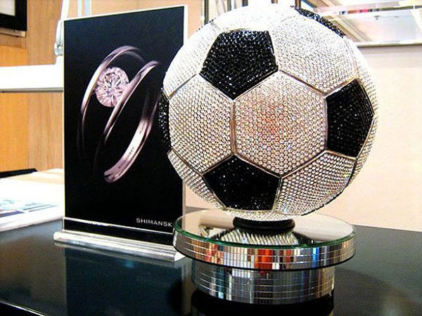 Most expensive toys ever sold in the world - #5 Shimansky Soccer Ball - $2.59 million