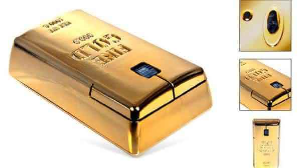 The world's most expensive computer mouse - THE GOLD BULLION WIRELESS - $36,835