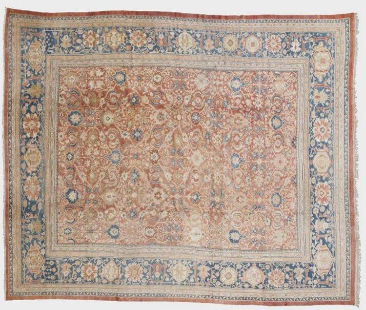 #10 Most Expensive Carpet - Ziegler Mahal Rug - $ 98,500