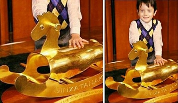 Most expensive toys ever sold in the world - #9 Gold Rocking Horse - $600,000