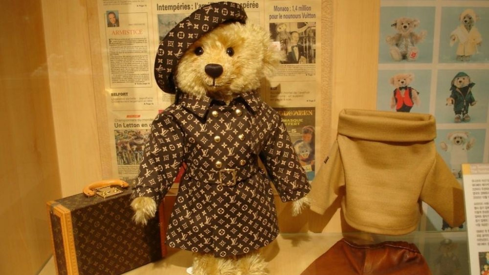 Most expensive toys ever sold in the world - #6 Steiff Louis Vuitton Teddy Bear - $2.1 million