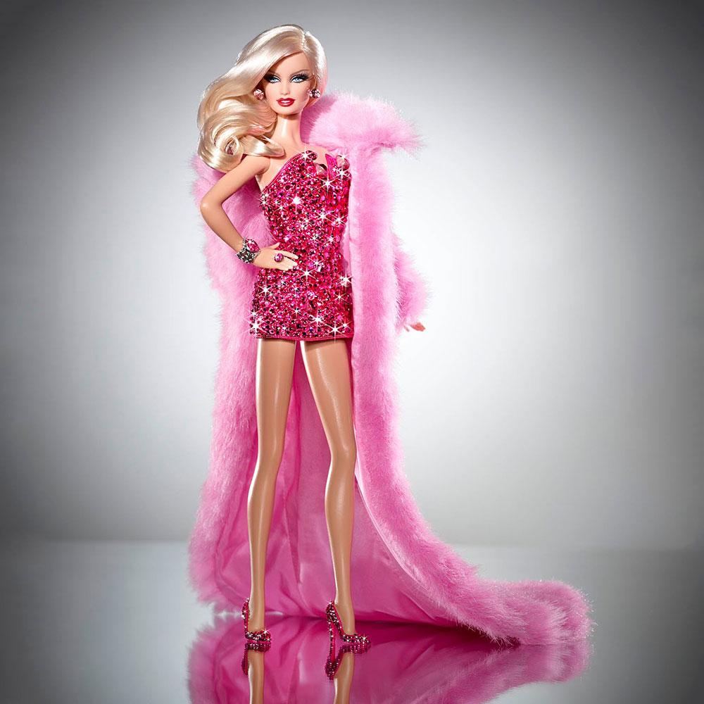 Most Expensive Barbie # 6: Pink Diamond Barbie $ 15,000