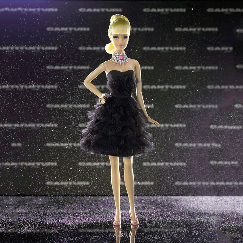 Most expensive Barbie dolls # 1: Stefano Canturi Barbie $ 302,500