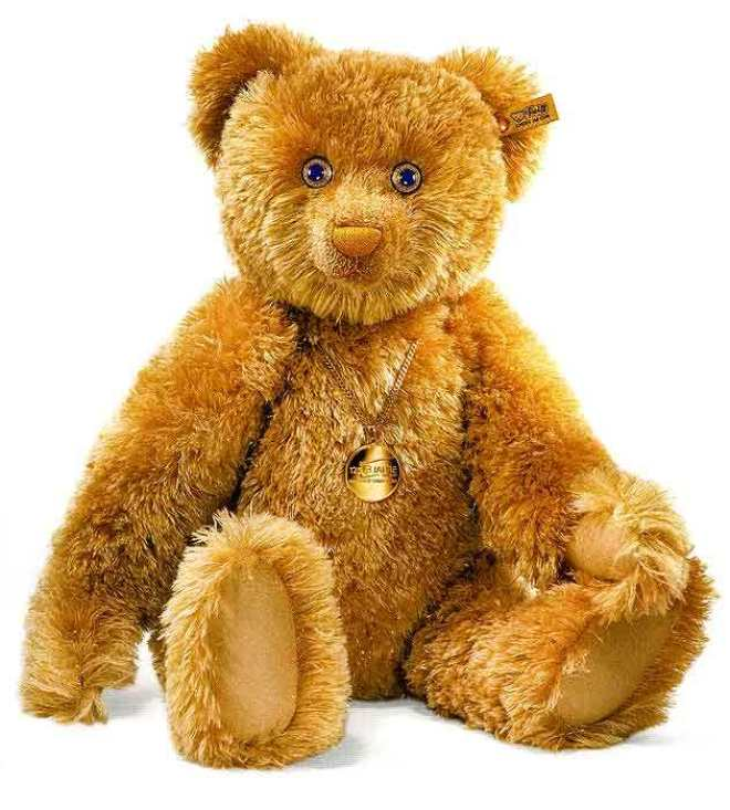 World's #7 Most Expensive Teddy Bear - #7 Diamond Eyes Bear