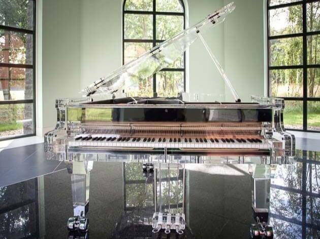 #2 most expensive piano - Crystal Piano, Heintzman - $3,220,000