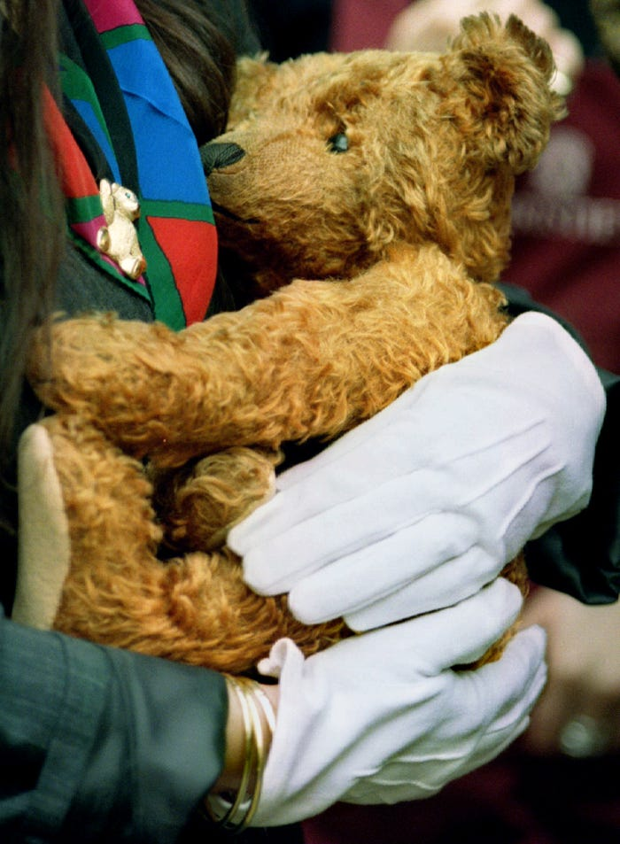 Most Expensive Teddy Bear - #3 Steiff Teddy Girl Bear - $ 143,000