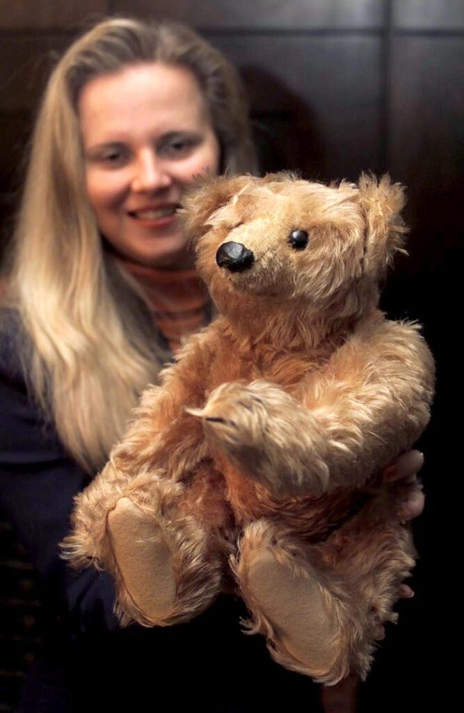 Most Expensive Teddy Bear - #6 Steiff's Oldest Teddy Bear - $ 105,000