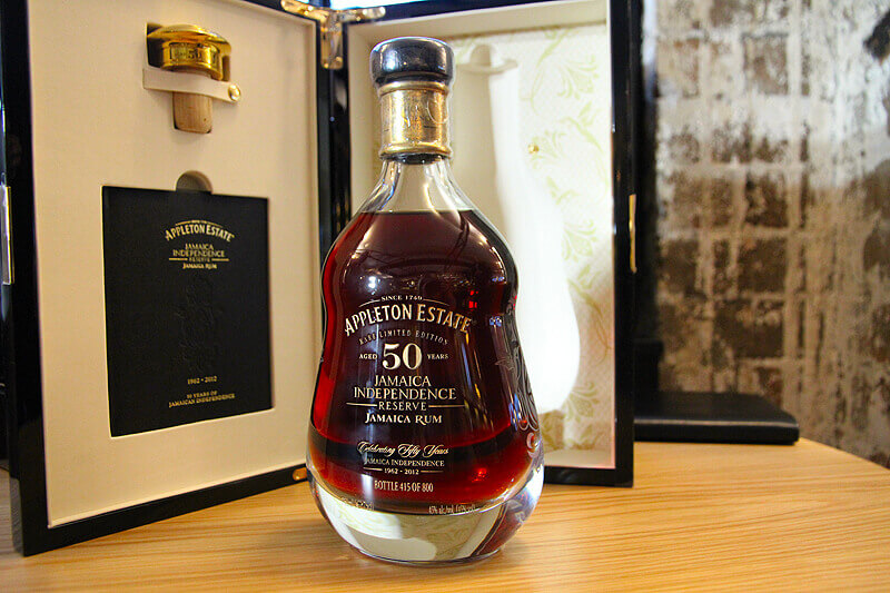 #4 Most expensive rum in the world - 50-Year-Old Appleton Estate - $6,630