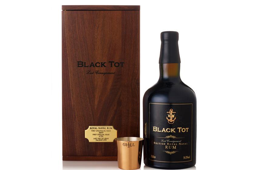 #5 most expensive rum in the world - Original Royal Naval Rum Tot - $3,000