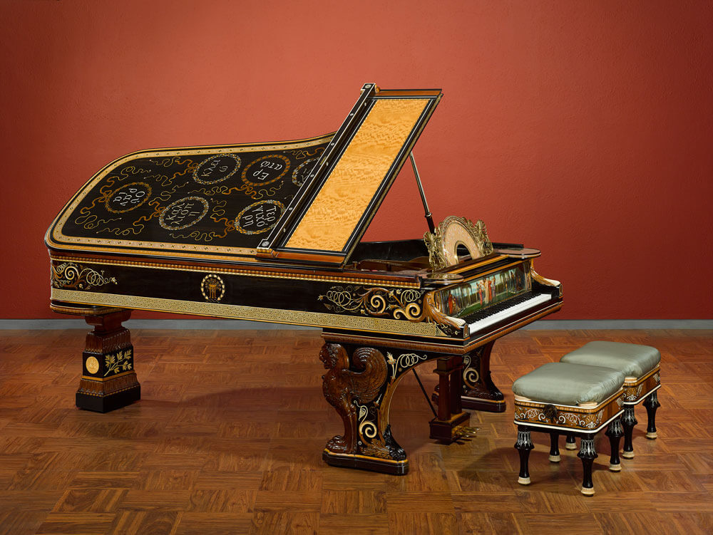 #7 Most expensive pianos - The Alma-Tadema Steinway - $1,200,000