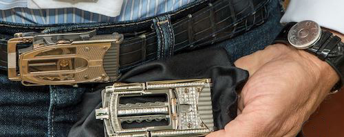 "#2 most expensive belts in the world ""Caliber R822"" by Roland Iten"