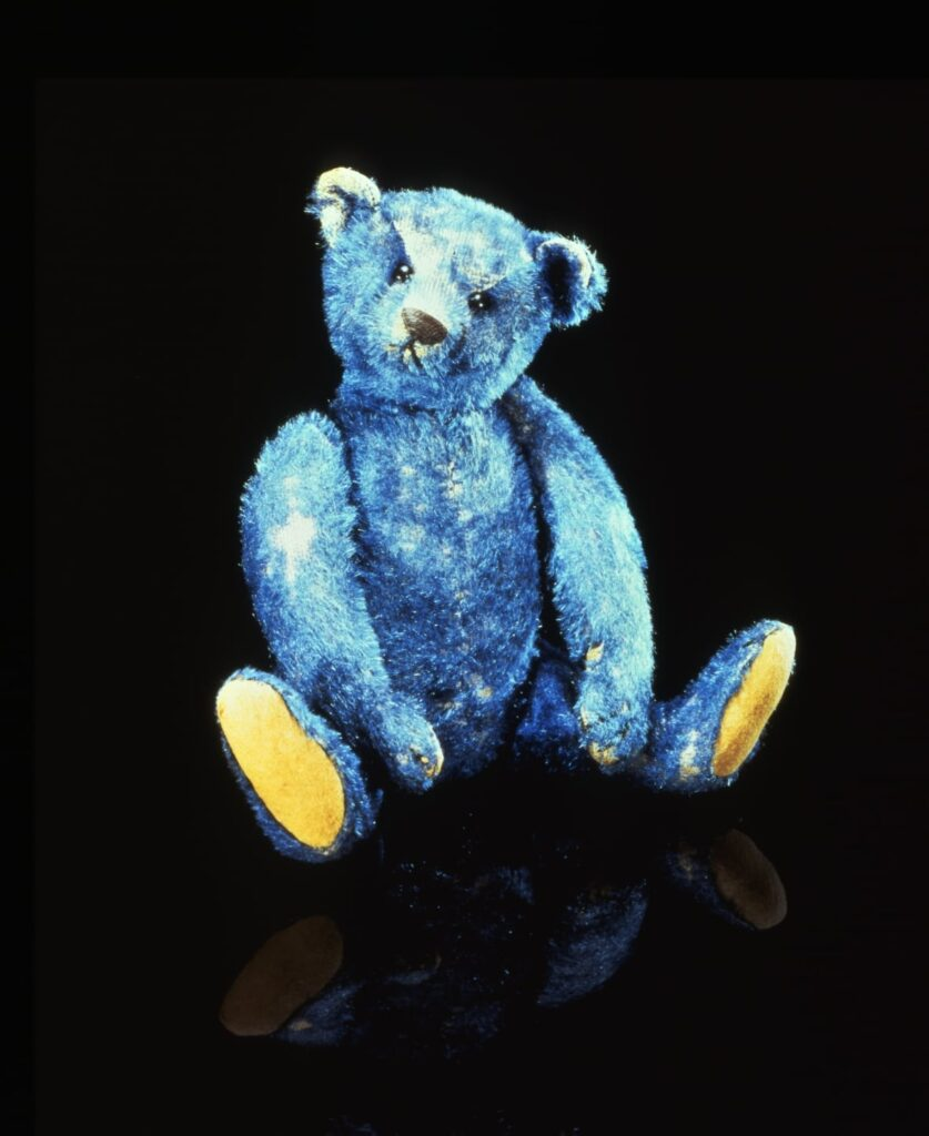 Most Expensive Teddy Bear - #8 Blue Elliot Bear - $ 64,200