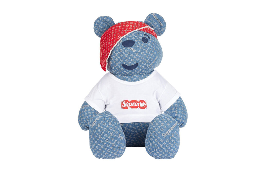 most expensive teddy bear - supreme lv teddy bear