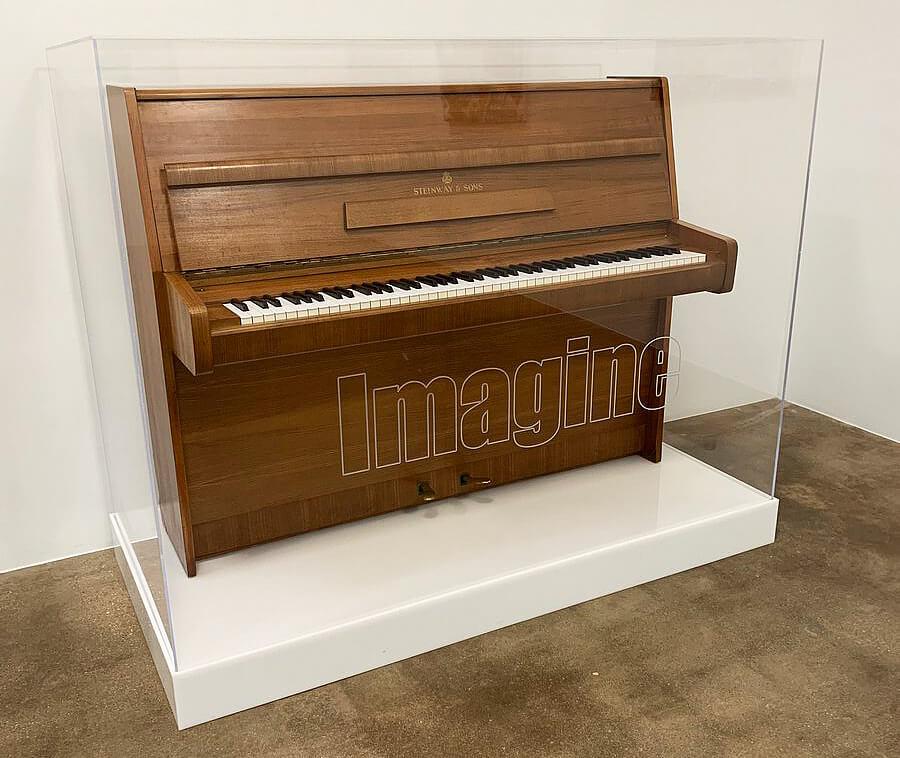 #3 most expensive piano - John Lennon's Steinway Model Z - #2,370,000