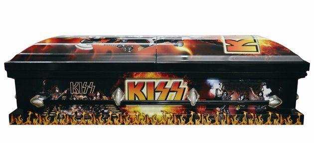 #8 Most Expensive Casket - Kiss Casket - $4,000