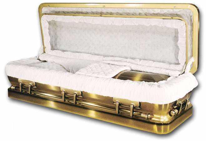 #5 Most Expensive Casket - Hallmark Bronze Casket - $6,900