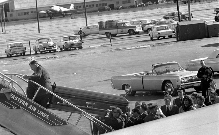 #7 Most Expensive Casket - JFK's Original Casket - $4,000