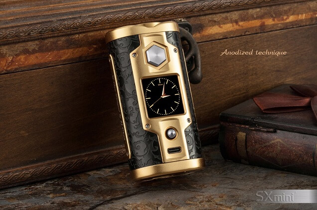 most expensive vape mods - #9 SX Mini G Class Luxury Golden, YiHi - $300