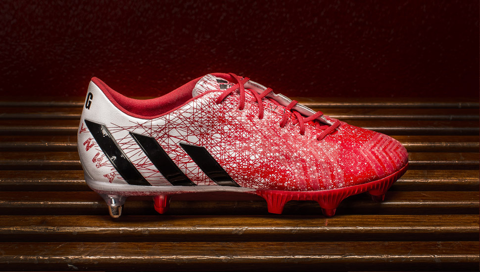 The second most expensive football boots - adidas Predator Instinct boots mark Steven Gerrard's Anfield Goodbye